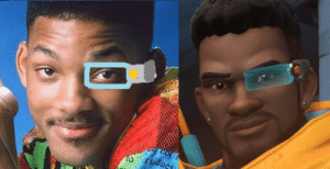 Will Smith rewinding in Overwatch: Will Smith rewinding in Overwatch