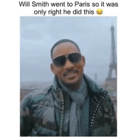 willsmith killed it Y'all ready for that badboys3 ⁉️ Filming began yesterday 🔥🔥 ➡️DM Your Friends ➡️Follow @bars 📸: @westbrook @jas: Will Smith went to Paris so it was  only right he did thi:s willsmith killed it Y'all ready for that badboys3 ⁉️ Filming began yesterday 🔥🔥 ➡️DM Your Friends ➡️Follow @bars 📸: @westbrook @jas