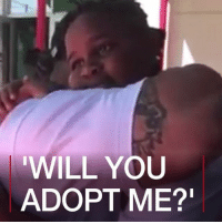 "Birthday, Dad, and Memes: ""WILL YOU  ADOPT ME? 8 MAY: A ten-year-old boy uses his birthday party to ask his stepfather to ""make it official"" and adopt him. Video courtesy of Porsche Williamson. For another story on adoption: bbc.in-adopt USA Adoption Dad Father Stepfather BBCShorts BBCNews @BBCNews"