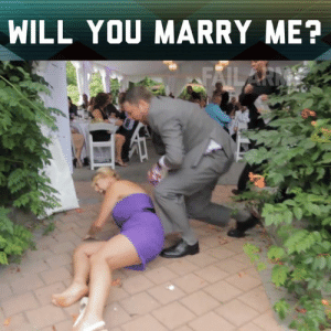 Memes, Ever After, and 🤖: WILL YOU MARRY ME? Happily ever after!
