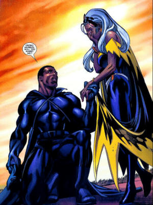 superheroesincolor:  Black Panther and Storm  //  Marvel Comics Get the comics here  [Follow SuperheroesInColor faceb / instag / twitter / tumblr / pinterest] : WILL You  MARRY  ME? superheroesincolor:  Black Panther and Storm  //  Marvel Comics Get the comics here  [Follow SuperheroesInColor faceb / instag / twitter / tumblr / pinterest]