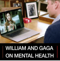 18 APR: Prince William and Lady Gaga have been talking to each other about mental health as part of the Heads Together oktosay campaign. The Duke of Cambridge asked the pop star to get involved after she wrote an open letter last year, revealing she has post-traumatic stress disorder. Watch more: bbc.in-mentalhealth MentalHealth Health PrinceWilliam LadyGaga PrinceHarry oktosay BBCShorts BBCNews @BBCNews: WILLIAM AND GAGA  ON MENTAL HEALTH 18 APR: Prince William and Lady Gaga have been talking to each other about mental health as part of the Heads Together oktosay campaign. The Duke of Cambridge asked the pop star to get involved after she wrote an open letter last year, revealing she has post-traumatic stress disorder. Watch more: bbc.in-mentalhealth MentalHealth Health PrinceWilliam LadyGaga PrinceHarry oktosay BBCShorts BBCNews @BBCNews