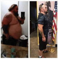 William Guinn Jr., of Abilene, TX lost more than 200lbs-going from 460 lbs to 230 lbs-in order to fulfill his dream of joining the US Army. getfitordie - -: William Guinn Jr., of Abilene, TX lost more than 200lbs-going from 460 lbs to 230 lbs-in order to fulfill his dream of joining the US Army. getfitordie - -