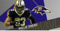 Memes, New Orleans Saints, and Match: WILLIE SNEAD Saints decline to match @Ravens' offer sheet for @Willie_Snead4G: https://t.co/8eUm5gQI7Z (via @RapSheet) https://t.co/cVynXSIuj5