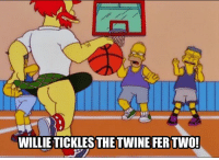 Memes, 🤖, and Twine: WILLIE TICKLES THE TWINE FER TWO!  TIELLTHEPER Let's go Raptors! From @stienerrecliner