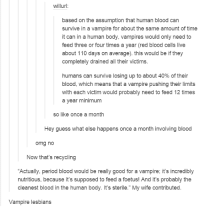 period blood