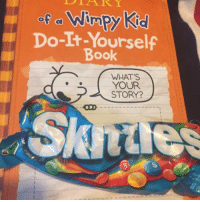 Memes, 🤖, and Kid: Wimpy Kid  Do-It-Yourself  Book  WHAT'S  YOUR  STORY? I think I had a disability (sorry half were upside down) notmyrodrick
