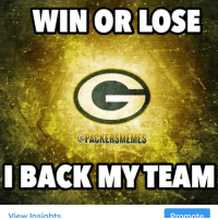 It was a good run. Started 4-6 and made it to the Championship game. Just didn't play good enough to win today. Congrats Falcons fans you deserve this win. gopackgo nflmemes nfl packers: WIN OR LOSE  @PACKER SMEMES  BACK MY TEAM  View Insights  Promote It was a good run. Started 4-6 and made it to the Championship game. Just didn't play good enough to win today. Congrats Falcons fans you deserve this win. gopackgo nflmemes nfl packers