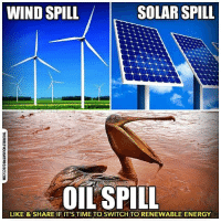 "Driving, Energy, and Fall: WIND SPILL  SOLAR SPILL  OIL SPILL  LIKE & SHARE IF IT'S TIME TO SWITCH TO RENEWABLE ENERGY  THEFREETHOUGHTPROJECT.COM 💭 DID YOU KNOW? Solar & Wind Jobs Grew 12 Times Faster Than The US Economy!!! 💭 REPORT: (link to article in our bio) In yet another indication that the clean energy revolution is well underway, a new report finds that solar and wind jobs are growing 12 times as fast as rest of the U.S. economy. These jobs have grown by about 20 percent annually in recent years. . The report from the Environmental Defense Fund (EDF) notes that renewable energy jobs, totaling about 769,000 by the end of 2015, experienced ""a compound annual growth rate (CAGR) of nearly 6% since 2012,"" while ""fossil fuel extraction and support services slumped, with a -4.25% CAGR over the same period."" . Market forces are driving this phenomenon, due to dramatic reductions in manufacturing and installation costs, coupled with stagnant demand for oil and coal. Unsubsidized solar is now as cheap as coal and natural gas and even wind in emerging markets, and solar prices will continue to rapidly fall. . What's more, these renewable energy jobs cannot be outsourced due to their on-site nature and they pay above average wages.... . - Continued - . 💭 Read the FULL Report: (link in bio) http:-thefreethoughtproject.com-report-solar-wind-energy-jobs- 💭 Join Us: @TheFreeThoughtProject 💭 TheFreeThoughtProject BigOil Solar NoDAPL 💭 LIKE our Facebook page & Visit our website for more News and Information. Link in Bio.... 💭 www.TheFreeThoughtProject.com"