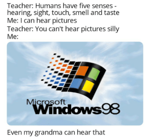 Windows 98 meme, because why not?: Windows 98 meme, because why not?