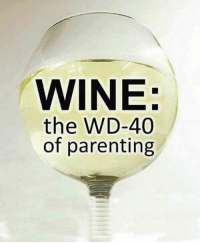 WINE:  the WD-40  of parenting