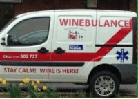 Memes, Wine, and 🤖: WINEBULANCE  CALLa 602 727  STAY CALM! WINE IS HERE! Thanks Kathy