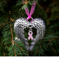 Wings of an Angel Pink Ribbon Ornament on SALE today at The Breast Cancer Site! Purchases fund mammograms, research & care for women in need!  ★SHOP NOW★ http://po.st/5V5hmp: Wings of an Angel Pink Ribbon Ornament on SALE today at The Breast Cancer Site! Purchases fund mammograms, research & care for women in need!  ★SHOP NOW★ http://po.st/5V5hmp