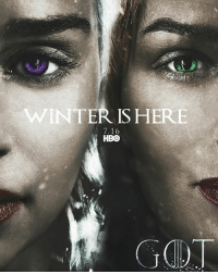 16 days until Game of Thrones season 7! Daenerys or Cersei? gameofthrones emiliaclarke daenerys daenerystargaryen lenaheadey cersei cerseilannister got hbo asoiaf thronesmemes: WINTER ISHERE  7.16  HBO 16 days until Game of Thrones season 7! Daenerys or Cersei? gameofthrones emiliaclarke daenerys daenerystargaryen lenaheadey cersei cerseilannister got hbo asoiaf thronesmemes