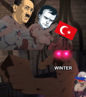 Anime, Winter, and Ally: WINTER Russia greatest ally
