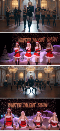 Winter, How, and Inter: WINTER TALENT HOW   INTER TALENT SHOW