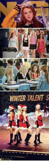 Girls, Memes, and Winter: WINTER TALENT S Mean Girls https://t.co/QBk9aPDVD5
