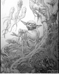 May the 4th: Star Wars Day, 40 years! Here's my small contribution. Pencil WIP photo (tbt) andybrase pencils pencilsketch fantasyart scifiart scifi creaturedesign creature sketching starwarsart starwars maythe4thbewithyou maytheforcebewithyou yoda comicart marvelart starwarsday artoftheday drawing: WIP pencil detail  Andy Brase May the 4th: Star Wars Day, 40 years! Here's my small contribution. Pencil WIP photo (tbt) andybrase pencils pencilsketch fantasyart scifiart scifi creaturedesign creature sketching starwarsart starwars maythe4thbewithyou maytheforcebewithyou yoda comicart marvelart starwarsday artoftheday drawing