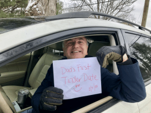 Wish Dad luck?: Wish Dad luck?
