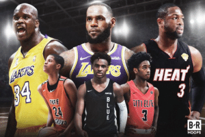 The next generation is coming 👀 Which HS player + NBA dad duo would you take?  (via Bleacher Report Hoops): wish  HEAT  AKRS  34  3  EITI ELIE  TUFF  24  GRDXAD  B R  HOOPS  B LUw The next generation is coming 👀 Which HS player + NBA dad duo would you take?  (via Bleacher Report Hoops)