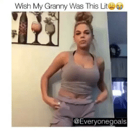 Granny bad and boujee💅🏼: Wish My Granny Was This Lit  @Everyonegoals Granny bad and boujee💅🏼