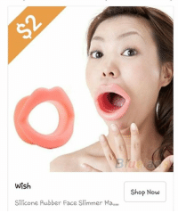 Looking for that perfect Valentine's Day gift for your girl ?: Wish  Silicone Rubber Face slimmer Ma  000  Shop Now Looking for that perfect Valentine's Day gift for your girl ?