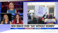 "Memes, 🤖, and Working: WITH  HER  FIRST  100 DAYS  DAY 48  NEW DEBATE OVER ""DAY WITHOUT WOMEN""  THE FIRST 100 DAYS ""The focus should be on the women who showed up for work today and did their jobs and are climbing the ladder based on their merit…rather than throwing temper tantrums in the streets."" — @katiepavlich on ADayWithoutAWoman"