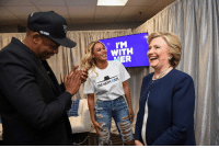 Jay, Jay Z, and Memes: WITH  IM WITH HER Beyoncé& JAY Z& Hillary& You? hillaryclinton.com/makeaplan