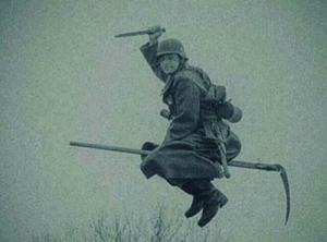 With the Allies advancing deeper and deeper into German territory, the Nazis resort to more desperate measures (1945): With the Allies advancing deeper and deeper into German territory, the Nazis resort to more desperate measures (1945)