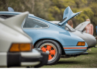 Memes, 🤖, and Tails: With the perfect mix of outlandish and elegance, the whale tail first came to be in 1973 after being fitted to the 911 Carrera 3.0 RSR IROC. It later found a home on the original 930 3.0 and could be found as late as 1991 fitted standard to the 964 RS America in 1991. werksreunionpirelli werksreunion PCANational pirelli porsche carrera 911 carsofinstagram sponsored