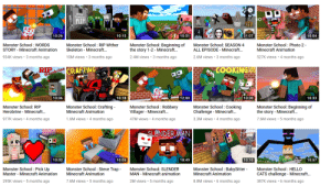 Finally, some good fucking cringe: Wither  Skeleton  RIP  BOTLE  FLIP  10:51  31:07  10:26  10:15  10:04  Monster School: Photo 2-  Minecraft Animation  Monster School: Beginning of  the story 1-2 - Minecraft...  Monster School : WORDS  STORY Minecraft Animation  Monster School : RIP Wither  Skeleton Minecraft...  Monster School: SEASON 4  ALL EPISODE - Minecraft...  2.4M views 3 months ago  2.6M views 3 months ago  934K views 3 months ago  10M views 3 months ago  527K views  4 months ago  RIP  Herobrine  COOKING  CRAFTING  10:30  10:06  10:18  12:00  10:33  Monster School: Crafting-  Minecraft Animation  Monster School Cooking  Challenge Minecraft...  Monster School : Robbery  Villager Minecraft...  Monster School: Beginning of  the story Minecraft...  Monster School: RIP  Herobrine Minecraft...  1.6M views  3.3M views 4 months ago  7.6M views 5 months ago  977K views 4 months ago  4 months ago  47M views 4  months ago  SLENDER MAN  10:10  10:02  10:05  18:49  10:57  Monster School : BabySitter  Minecraft Animation  Monster School HELLO  CATS challenge - Minecraft..  Monster School : Steve Trap -  Minecraft Animation  Monster School Pick Up  Master Minecraft Animation  Monster School: SLENDER  MAN Minecraft animation  2M views 5 months ago  7.6M views 5 months ago  8.8M views 6 months agO  387K views 6 months ago  295K views 5 months ago Finally, some good fucking cringe