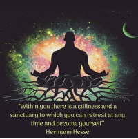 "Instagram, Tumblr, and Blog: ""Within you there is a stillness and a  sanctuary to which you can retreat at any  time and become yourself""  Hermann Hesse alowishussleepstodream:Meditation helps me in so many ways. I can't say enough about it! #meditation #meditatedaily #meditations #mindfulness #relax #relaxing #mind #peace #quotes #hermannhesse #oneself #sanctuary  #stillness #selflove #tranquility https://www.instagram.com/p/BsppzpUnDH0/?utm_source=ig_tumblr_shareigshid=1jcku5n5y7znr"