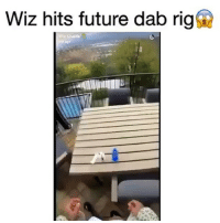 Future, Memes, and Best: Wiz hits future dab rigf  Khalifa Wiz killed them with the @dabado 😂 follow @dabado for the best electric dab rigs 💨