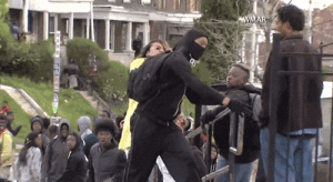 cognitivedissonance:  killerdyke:  micdotcom:  Watch: An angry mom dragged her son out of the Baltimore riotsThis Baltimore mother was not pleased to see her son rioting across the city on Monday. And she did not hide her disdain.After recognizing her son on television, this mother reportedly hauled him out and smacked him down. Leading several pundits to applaud her actions on Twitter.  Yeah but you know why she's upset? Why she's so aggressive? Her son might end up like all those others she's seen on TV. Fucking pundits laughing and praising her- she's terrified her own CHILD might be murdered trying to show awareness. THIS ISNT FUNNY. ITS NOT A JOKE. A MOTHER IS SCARED HER CHILD WILL BE KILLED. All the white people re blogging and going good for her don't fucking understand why she's so adamant. Christ.EDIT: The mother herself has been quoted saying exactly this- she's terrified her son will become the next Freddie Gray. People saying this mom is ashamed or shit using this as justification against the riots, you're literally mocking a mother's fear that her child attempting to make the world a better place for themselves, they cannot without the risk of DEATH.LINK TO MOM'S INTERVIEWhttp://www.lovebscott.com/news/baltimore-mom-explains-why-she-beat-her-son-i-dont-want-him-to-be-a-freddie-gray  This is very important information.: WMAR cognitivedissonance:  killerdyke:  micdotcom:  Watch: An angry mom dragged her son out of the Baltimore riotsThis Baltimore mother was not pleased to see her son rioting across the city on Monday. And she did not hide her disdain.After recognizing her son on television, this mother reportedly hauled him out and smacked him down. Leading several pundits to applaud her actions on Twitter.  Yeah but you know why she's upset? Why she's so aggressive? Her son might end up like all those others she's seen on TV. Fucking pundits laughing and praising her- she's terrified her own CHILD might be murdered trying to show awareness. THIS ISNT FU