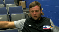 WMC ACTION NEWS Memphis LB Jackson Dillon Is a Big Fan of His Mullet
