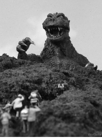 We're counting down the days for Shin Godzilla to come in theaters!   At 29 days to go we start with the original Godzilla (1954) as he's making landfall in Japan!: WoGzilla We're counting down the days for Shin Godzilla to come in theaters!   At 29 days to go we start with the original Godzilla (1954) as he's making landfall in Japan!