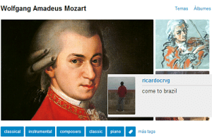 Tumblr, Blog, and Brazil: Wolfgang Amadeus Mozart  Temas Albumes  ricardocrvg  come to brazil  classical instrumental composers classic piano  más tags vedrividia:  @teufelsbuhle
