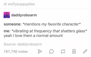 *cough* Alex Fierro *cough*: wolfypuppypiles  daddyroboarm  someone: *mentions my favorite character*  me: vibrating at frequency that shatters glass*  yeah I love them a normal amount  Source: daddyroboarm  167,746 notes *cough* Alex Fierro *cough*