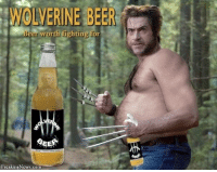 Schindler's Fist: WOLVERINE BEER  Beer worth fighting for  SEE  Freaking News.com Schindler's Fist
