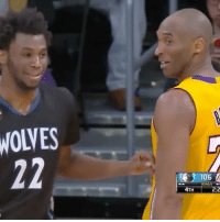 """Wiggins used Kobe's move then said, """"I learned that from you."""" 😂🐐 Kobe mambamentality - Follow @floaters for more!: WOLVES  06  BONUS  4TH  2:2 Wiggins used Kobe's move then said, """"I learned that from you."""" 😂🐐 Kobe mambamentality - Follow @floaters for more!"""