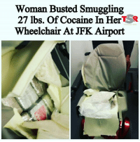 @Regrann from @theshaderoom - TSR STAFF: Avah T.! @avah_taylor Earlier this week, a woman was busted at JFK Airport attempting to smuggle 27 pounds of cocaine in her motorized wheelchair. ______________________________ The NY Daily News says that the woman, identified as 33-year-old Yoncela Stanley, arrived at JFK Airport Sunday (June 11) on a JetBlue flight from St. Lucia. ______________________________ A drug-sniffing K9 alerted U.S. Customs and Border Protection agents to the contraband hidden inside the wheelchair's back seat cushion, officials said. ______________________________ Upon further inspection, they discovered 10 bricks of cocaine with an estimated street value of-Read More At TheShadeRoom.com➡️ Follow @Dagenius_Jay33 FOR MORE ¯\_(ツ)_-¯ tag 3 friends to see this! dageniuscomedy @idontfuckwithyou1982 jay funny reblog retweet follow follow followme followers follower nyc newyork queensnyc nycqueens nycbrooklyn followhim lmao comment comments commentbelow popular instagood iphonesia nyc instamood picoftheday bestoftheday: Woman Busted Smuggling  27 lbs. Of cocaine In HertSR  Wheelchair At JFK Airport @Regrann from @theshaderoom - TSR STAFF: Avah T.! @avah_taylor Earlier this week, a woman was busted at JFK Airport attempting to smuggle 27 pounds of cocaine in her motorized wheelchair. ______________________________ The NY Daily News says that the woman, identified as 33-year-old Yoncela Stanley, arrived at JFK Airport Sunday (June 11) on a JetBlue flight from St. Lucia. ______________________________ A drug-sniffing K9 alerted U.S. Customs and Border Protection agents to the contraband hidden inside the wheelchair's back seat cushion, officials said. ______________________________ Upon further inspection, they discovered 10 bricks of cocaine with an estimated street value of-Read More At TheShadeRoom.com➡️ Follow @Dagenius_Jay33 FOR MORE ¯\_(ツ)_-¯ tag 3 friends to see this! dageniuscomedy @idontfuckwithyou1982 jay funny reblog retweet follow follow followme followers follower nyc newyork queensnyc nycqueens nycbrooklyn followhim lmao comment comments commentbelow popular instagood iphonesia nyc instamood picoftheday bestoftheday