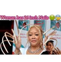 Bruh why is this shit going viral 🙄😰🤦🏾♂️ - - follow @kmoorethegoat @kmoorethegoat- - kmoorethegoat love tbt wcw music dt art like4like funny repost Repost: Woman has 26inch Nails  lieve It or Bruh why is this shit going viral 🙄😰🤦🏾♂️ - - follow @kmoorethegoat @kmoorethegoat- - kmoorethegoat love tbt wcw music dt art like4like funny repost Repost