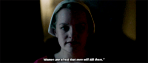 "itsbriankinney: We should've known better.   The Handmaid's Tale, Season 2, Episode 8 ""Women's Work"" : Women are afraid that men will kill them. itsbriankinney: We should've known better.   The Handmaid's Tale, Season 2, Episode 8 ""Women's Work"""
