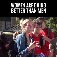 "America, Charlie, and Logic: WOMEN ARE DOINC  BETTER THAN MEN MUST WATCH! Radical Feminist Claims America Is A ""Patriarchy"" Without ANY Evidence!   Watch Charlie Kirk Destroy Her ""Logic"" 🤣🤣🤣"