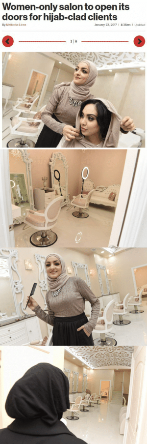 "Muslim, Tumblr, and Brooklyn: Women-only salon to open its  doors for hijab-clad clients  By Melkorka Licea  January 22, 2017 I 4:38am  Updated  3 choochofcolor: thetrippytrip:  The man-free sanctuary will offer up a range of typical beauty services such as hair, waxing, facials and manicures and pedicures, while providing unique services like henna and halal nails and eyebrow shaping.   ""We want women to be able to come in and feel completely relaxed,"" ~ Quhshi said.     Quhshi also noted that while Le'Jemalik was created with Muslims in mind, ""women of all faiths, races, and ethnicities"" are welcome.     This store is in Brooklyn, please support if you can; this is such a huge need for us muslim women."