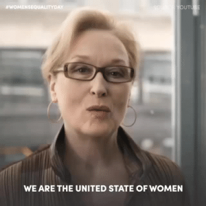 Life, Oprah Winfrey, and Target:  #WOMEN SEQUALITY DAY  WE ARE THE UNITED STATE OF WOMEN this-is-life-actually:  In honor#WomensEqualityDay, we must remember that there's still a long way to go, and we need to all come together. (📽: The United States of Women/Youtube — featuring Meryl Streep, Tina Fey, @oprah,@conniebritton, @kerrywashington,@msjwilly, @lavernecox, Indra Nooyi, Dina Powell, @toryburch, @crownpeace,@bellamyyoung, Leah Katz-Hernandez and@michelleobama)