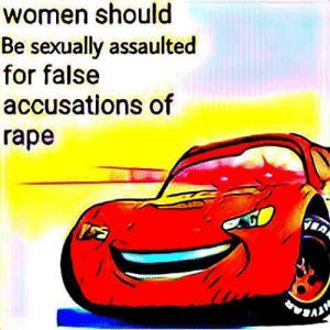Dank, Memes, and Reddit: women should  Be sexually assaulted  for false  accusations of  гape K A C H I 🅱️ 🅱️ A 😤✊ by Supreme_Leader_Ian FOLLOW 4 MORE MEMES.