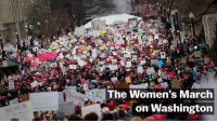 The Women's March on Washington, live from the National Mall.: WOMEN  The Women's March  on Washington The Women's March on Washington, live from the National Mall.