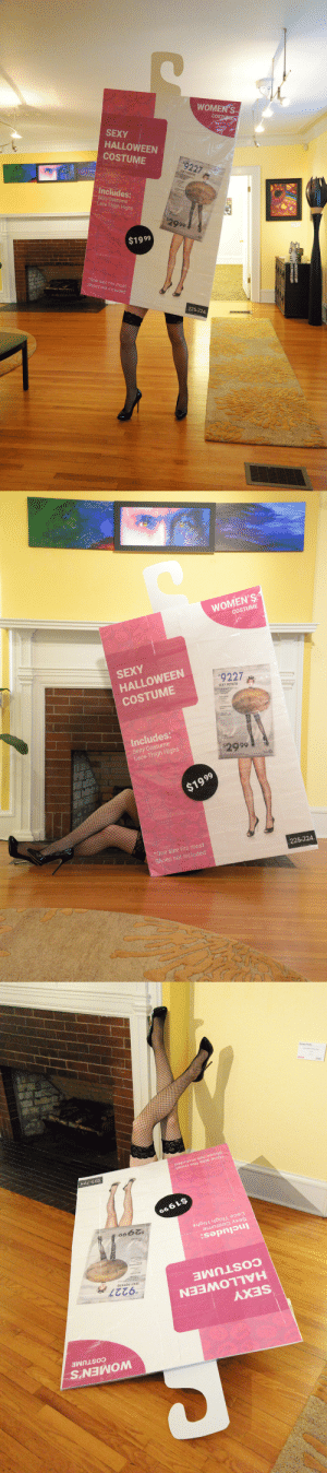 Halloween, Sexy, and Shoes: WOMEN'S  cOS  SEXY  HALLOWEEN  COSTUME  #9227  SEXY POTATO  Includes:  Sexy Costume  Lace Thigh Highs  2999  $1999  *One size fits most  Shoes not included  225-724   WOMEN'S  COSTUME  SEXY  HALLOWEEN  COSTUME  #92272  SEXY POTATO  Includes:  Sexy Costume  Lace Thigh Highs  2999  $1999  *One size fits most  Shoes not included  225-724   WOMEN'S  COSTUME  SEXY  HALLOWEEN  COSTUME  '9227  SEXY POTATO  Includes:  Sexy Costume  Lace Thigh Highs  $2999  $1999  *One size fits most  Shoes not included  225-724 fucknosexistcostumes: so-i-did-this-thing:  Here it is, the sexiest thing I could think of dressing up as for Halloween.   Amazing.