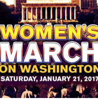 Memes, 🤖, and Washington: WOMENS  MARCH  ON WASHINGTON  SATURDAY JANUARY 21, 2017 203,452 people interested · 108,596 going